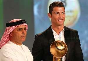 Cristiano Ronaldo Globe Soccer Awards 2013