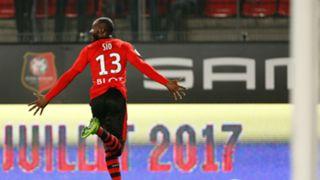 Giovanni Sio Rennes Lorient Ligue 1 25022017