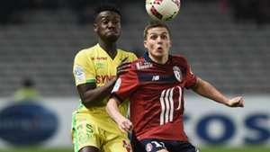 Enock Kwateng Nicolas De Preville Nantes Ligue 1 26112016