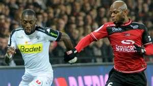 Baissama Sankoh Karl Toko Ekambi Guingamp Angers Ligue 1 29102016
