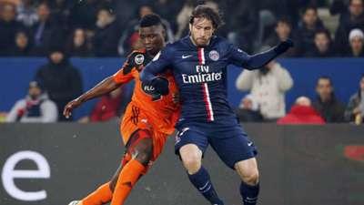 Lamine Gassama Maxwell PSG Lorient Ligue 1 20032015