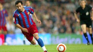 Ludovic Giuly Barcelona Espanyol 06-05-2000