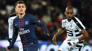 Marco Veratti Gelson Fernandes Paris SG Rennes Ligue 1 06112016