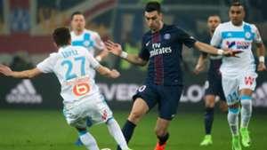 Javier Pastore Marseille PSG Ligue 1 26022017
