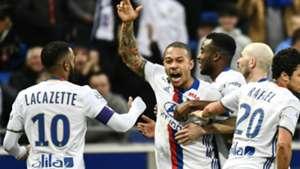 Memphis Depay Lyon Metz Ligue 1 26022017