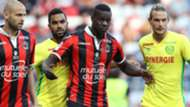 Mario Balotelli Koffi Djidji Nice Nantes Ligue 1 30102016