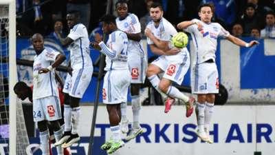 Coup-franc OM Marseille