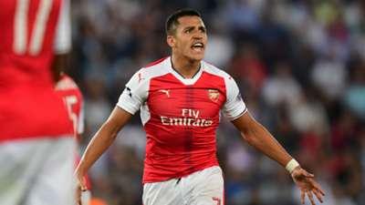 Alexis PSG Arsenal Champions League 13092016
