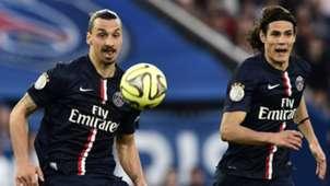 Ibrahimovic Cavani PSG Ligue 1