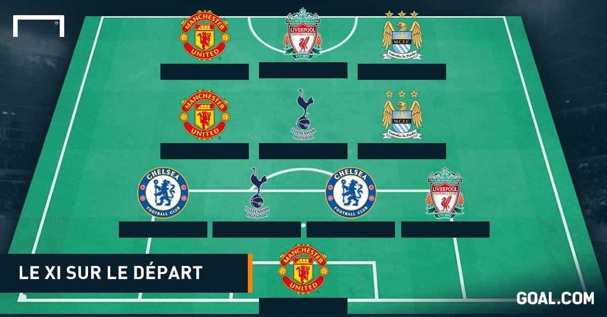 Le onze des joueurs qui pourraient quitter la Premier League