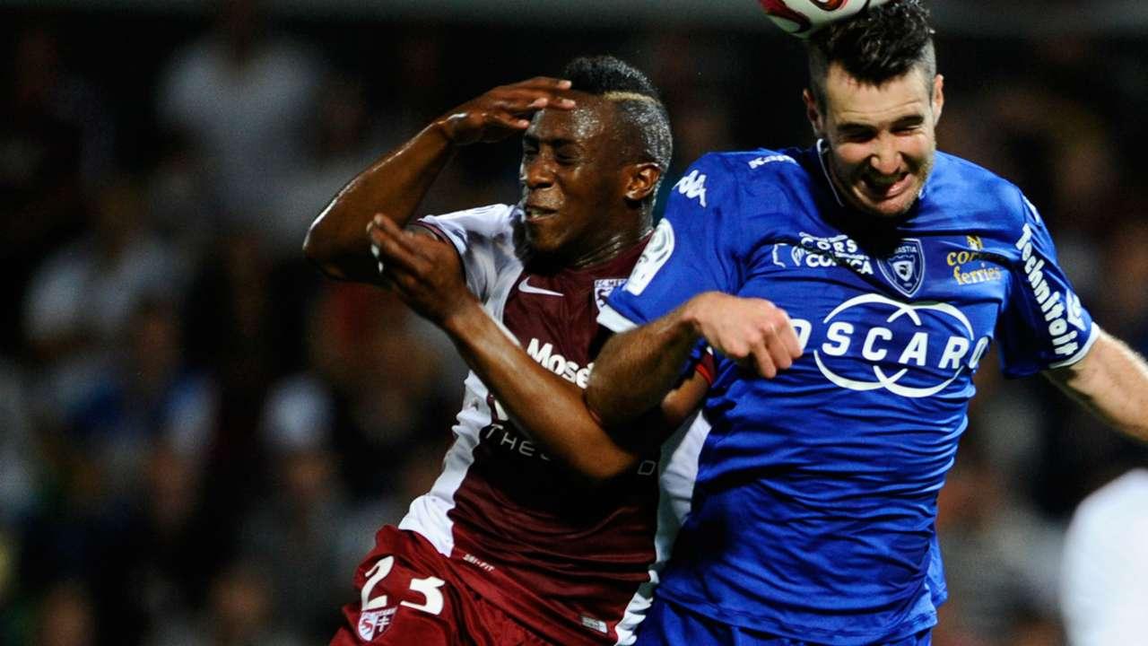 Yeni Ngbakoto Mathieu Peybernes Metz Bastia Ligue 1 20092014