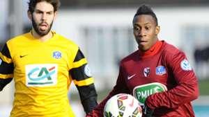 Theo Gazagnes Yeni Ngbakoto Epinal Metz Coupe de France 05012015