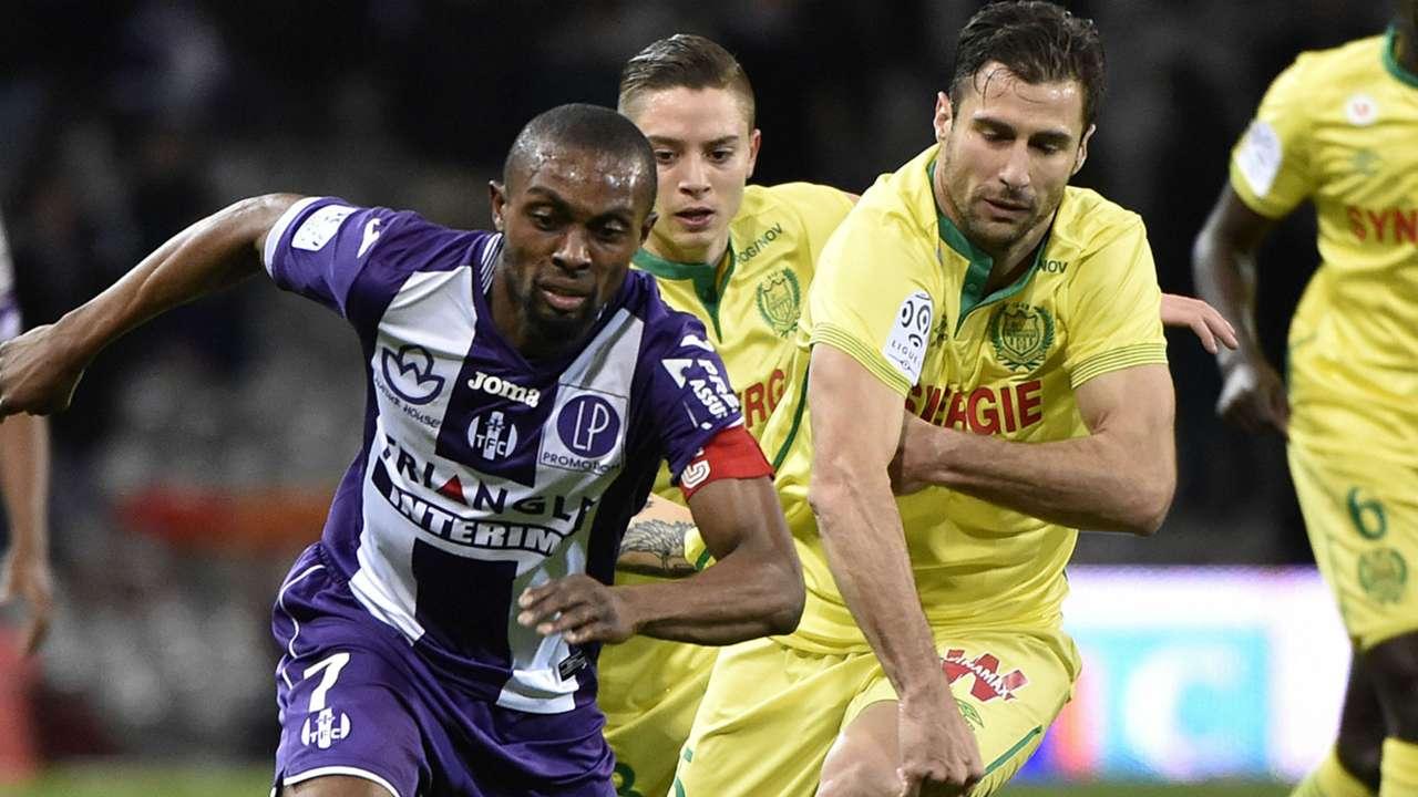Jean Akpa-Akpro Lorik Cana Toulouse Nantes Ligue 1 06022016
