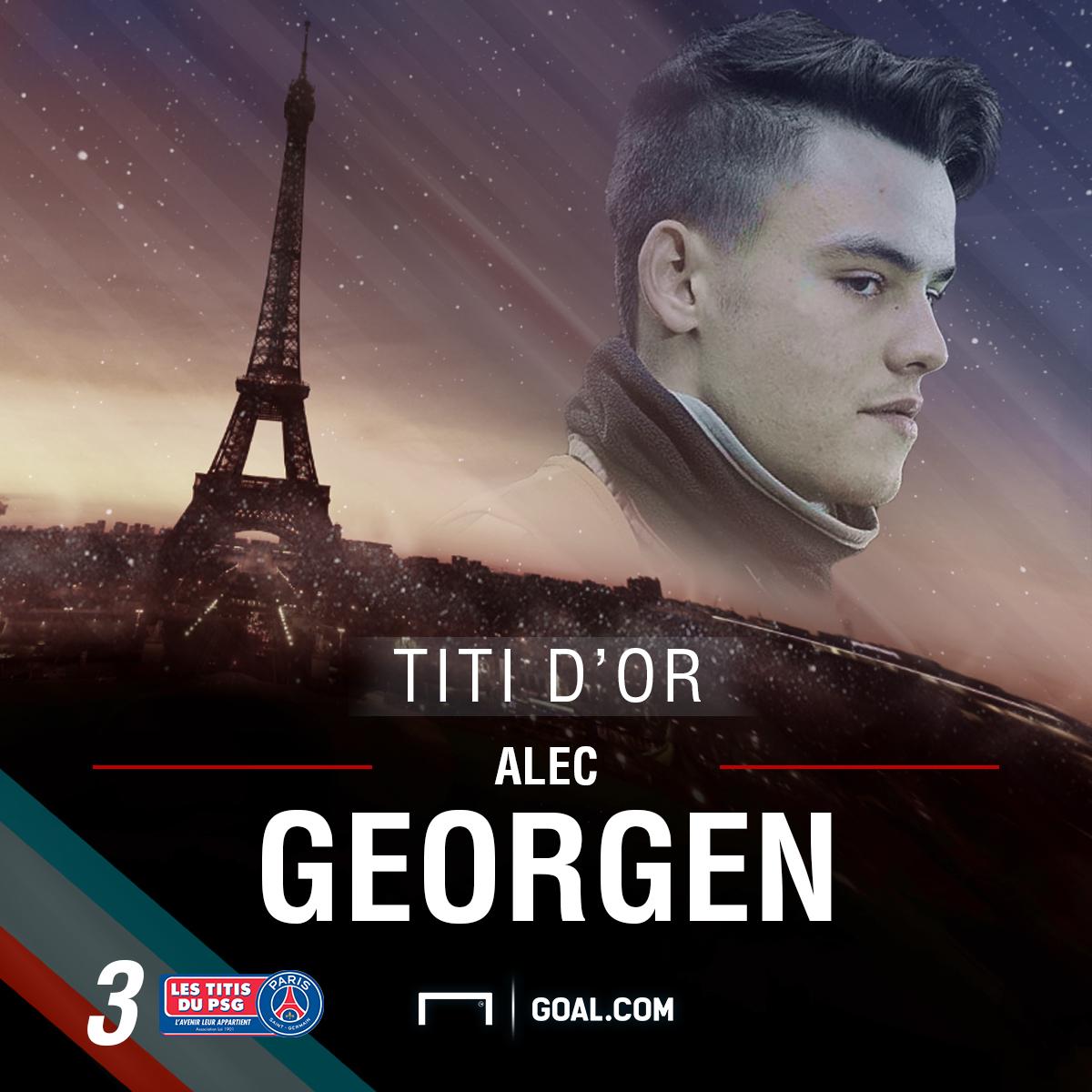 Alec Georgen - PSG