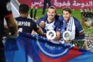 Zlatan Ibrahimovic Maxwell PSG champion