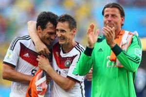 Miroslav Klose Mats Hummels Roman Weidenfeller France Germany World Cup 2014 07042014
