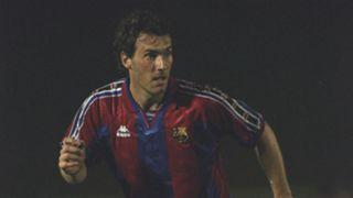 Laurent Blanc Barcelona Barça Barcelone