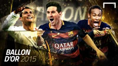 Cover Gallery Ballon d'Or Messi Neymar Ronaldo