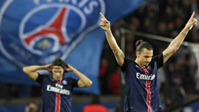 Zlatan Ibrahimovic Paris SG Marseille Ligue 1 04102015