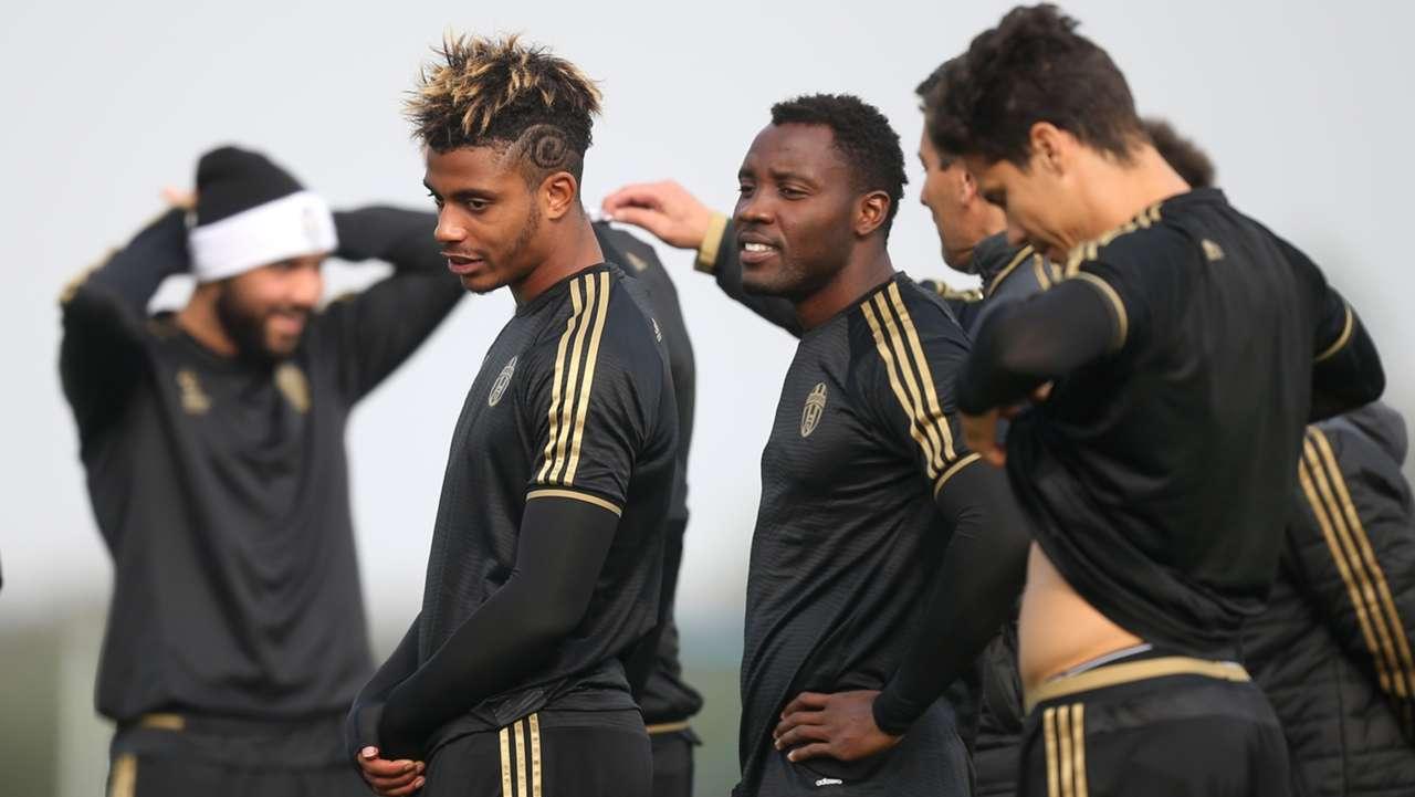 Marco Lemina & Kwadwo Asamoah of Juventus