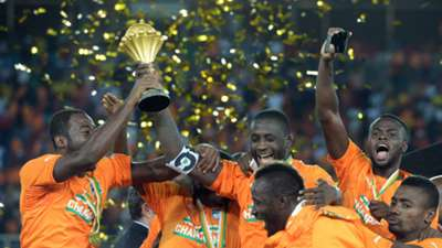 Ivory coast lift Afcon trophy