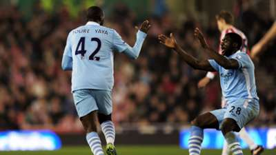 Toure Brothers celebrate