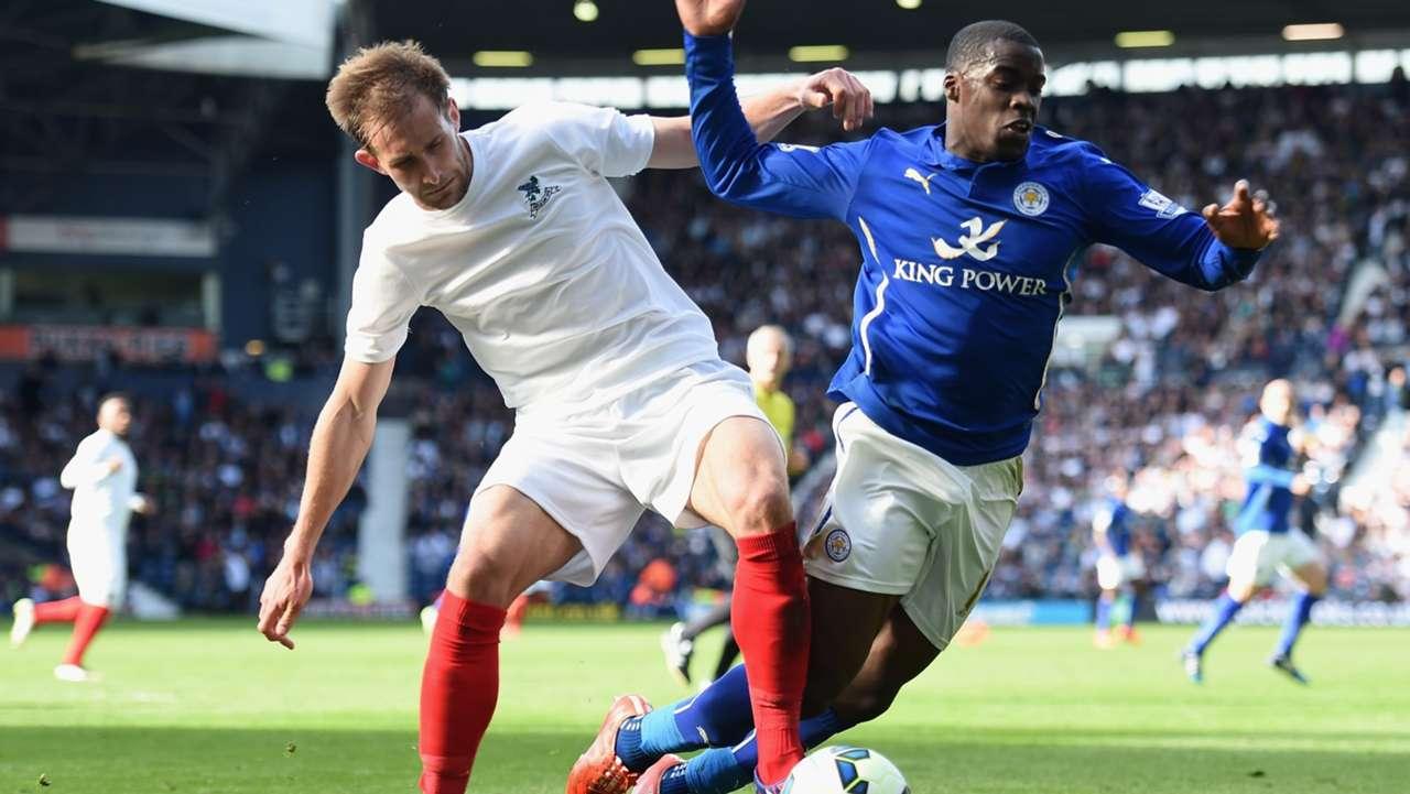 Craig Dawson West Bromwich Albion Jeffrey Schlupp Leicester City