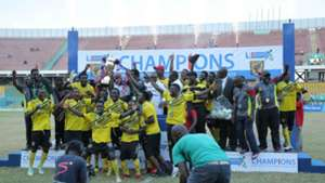 Ashanti Gold celebrate