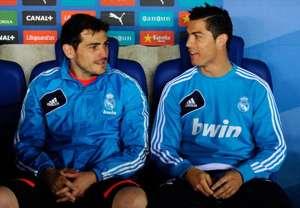 Cristiano Ronaldo_Iker Casillas _Real Madrid