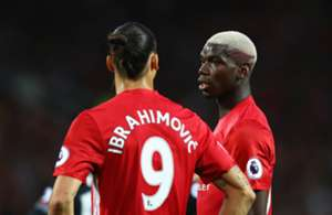Zlatan Ibrahimovic Paul Pogba