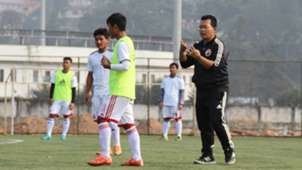 Thanboi Singto Shillong Lajong FC practice session