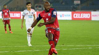 Andre Bikey Amougou Delhi Dynamos FC Jamshedpur FC ISL season 4 2017/2018