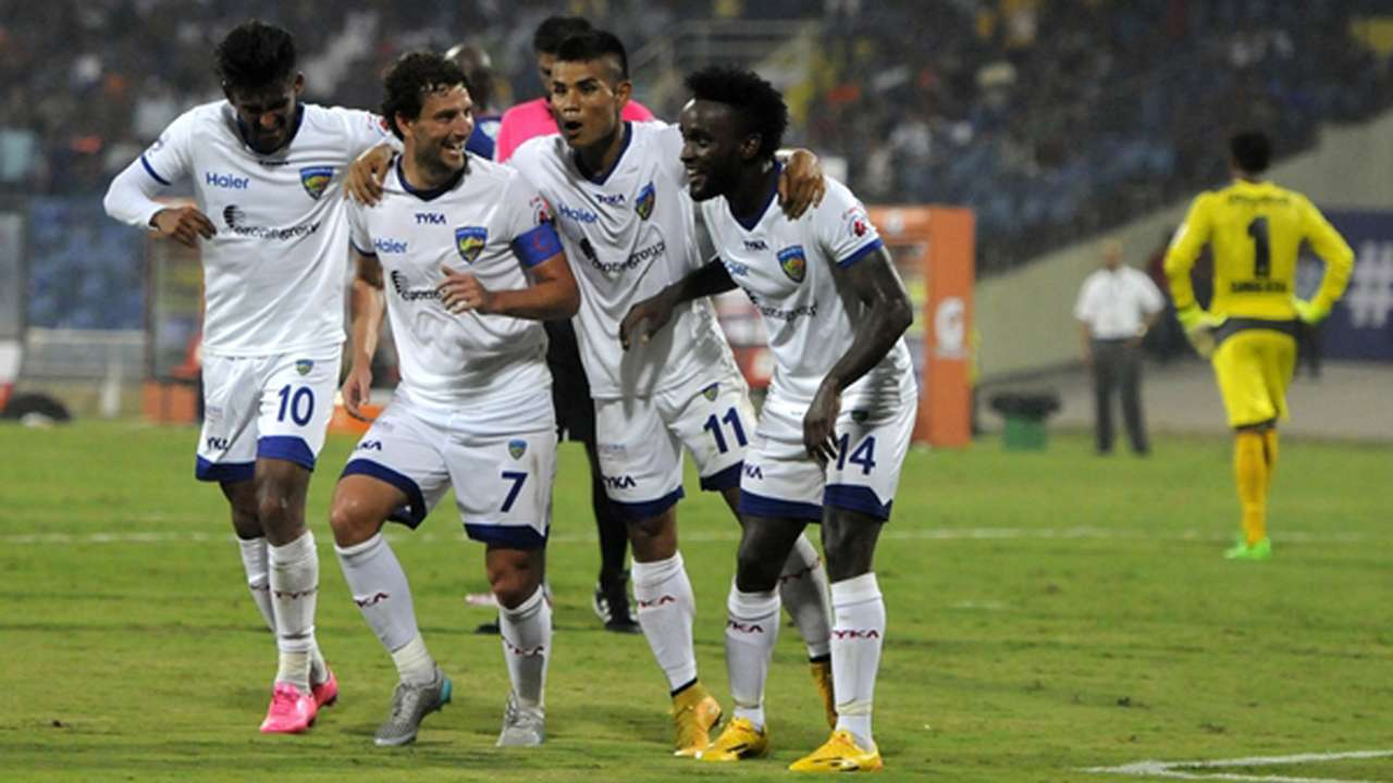 John Steven Mendoza Mumbai City FC Chennaiyin FC ISL season 2