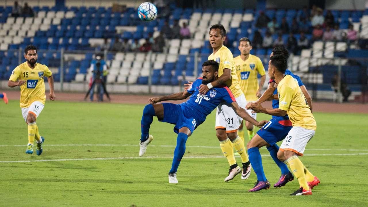 CK Vineeth Bengaluru FC Mumbai FC I-League 2017