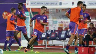 FC Pune City training