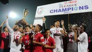 Aizawl FC I-League Champions 2017