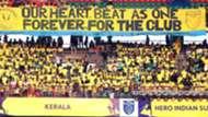 Supporters during Kerala Blasters FC ATK ISL Season 4 2017/2018