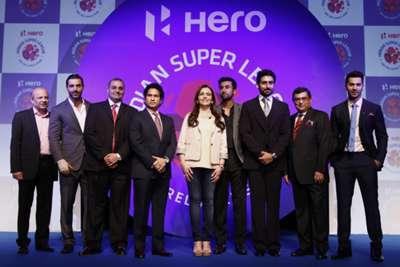 Hero Indian Super League Launch Event