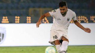 Marcinho NorthEast United FC Bengaluru FC ISL 4 2017/2018