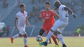 Yugo Kobayashi Laurence Doe Aizawl FC Shillong Lajong FC I-League 2017/2018
