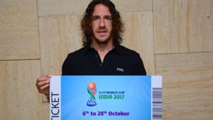 Carles Puyol FIFA U-17 World Cup India 2017