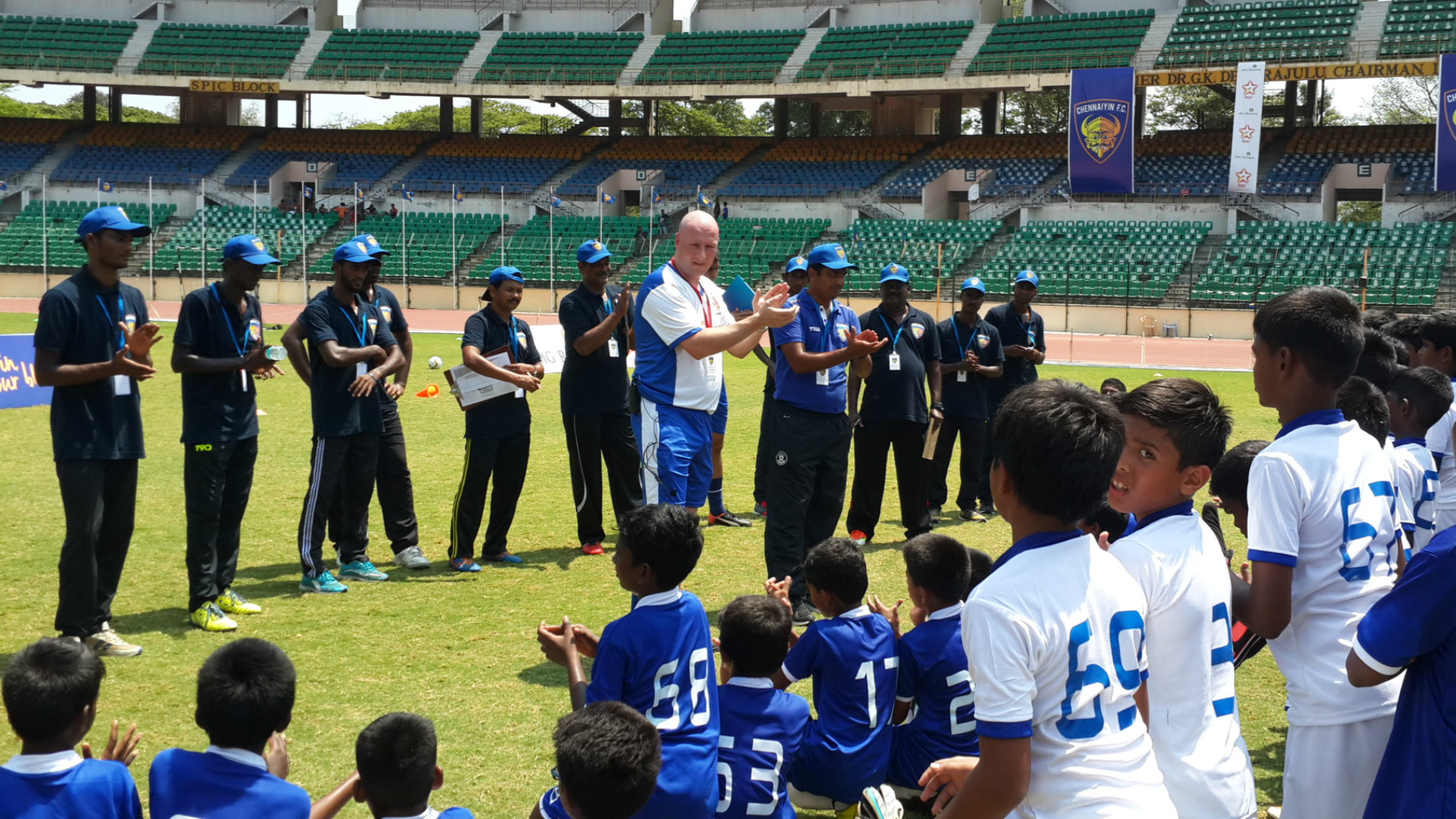 Marcus Michael Vaessen Syed Sabir Pasha Chennaiyin FC Reliance Foundation Young Champs