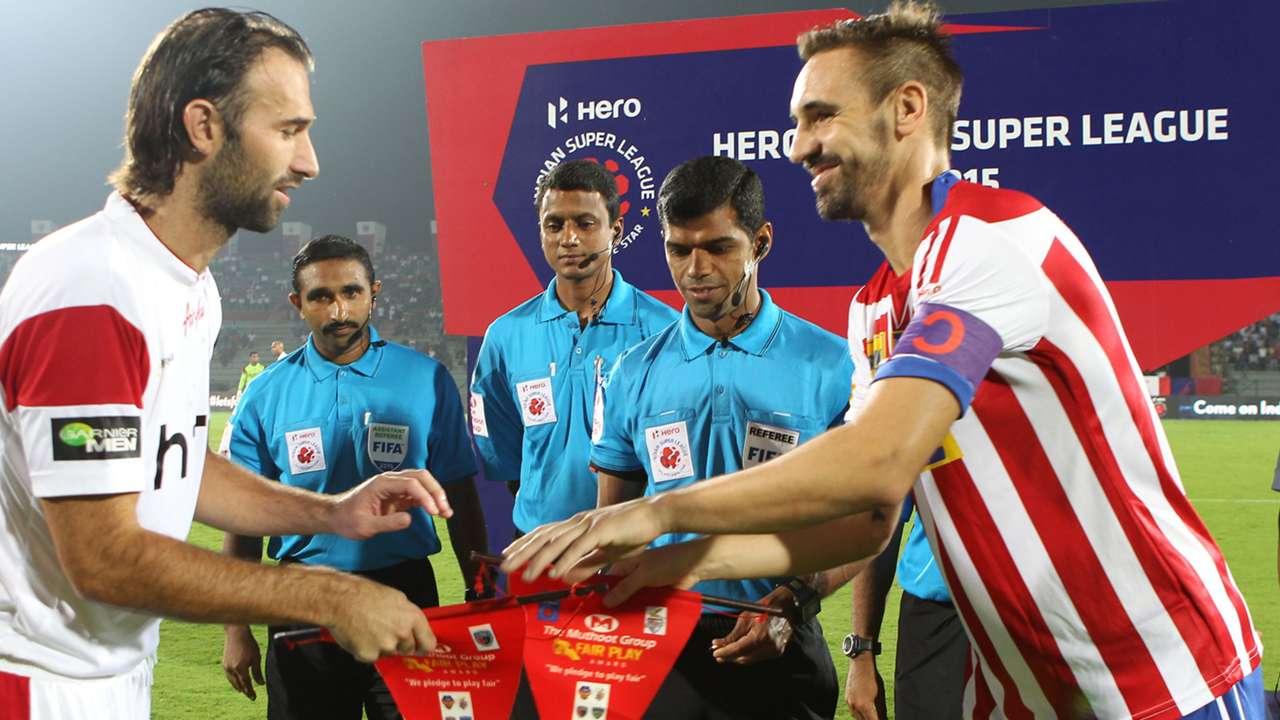 Jorge Manuel Rebelo Borja Fernandez NorthEast United FC Atletico de Kolkata ISL season 2