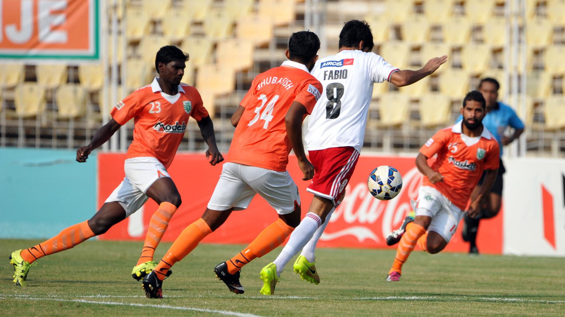 Sporting Clube de Goa Shillong Lajong FC I-League