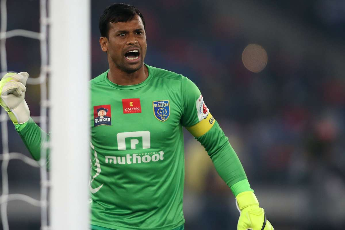 ISL 2017: Veteran goalkeeper Sandip Nandy seals return to Kerala Blasters |  Goal.com