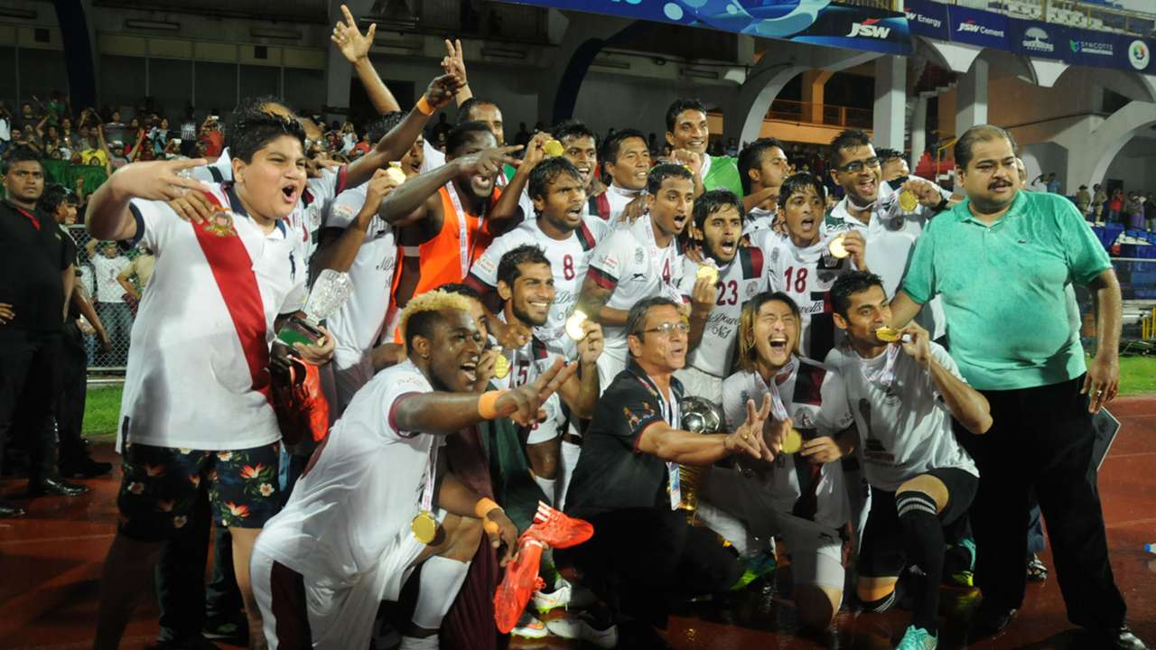 Mohun Bagan AC I-League 2014-15 Champions