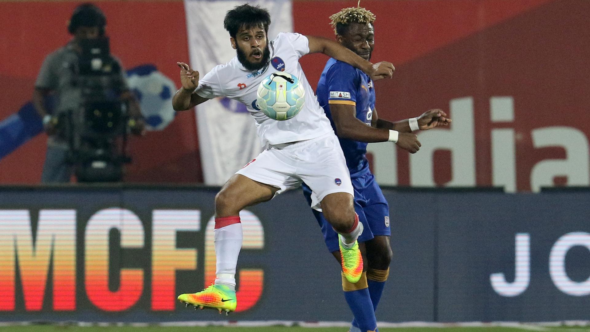 Souvik Chakraborty Mumbai City FC Delhi Dynamos FC ISL season 3 2016