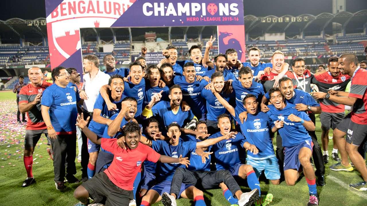 Bengaluru FC I-League 2015-16 Champions