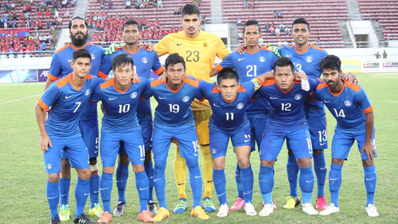 Laos India 2019 AFC Asian Cup Qualifier