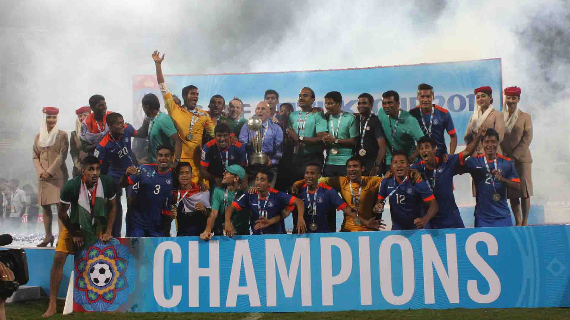 India Afghanistan SAFF Cup 2015